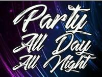 Local dj ATLANTIC mobile disco raves weddings parties events