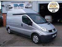 2010 RENAULT TRAFIC LWB H/R IN SILVER WITH AIR CON AND ELECTRIC PACK 3 IN STOCK