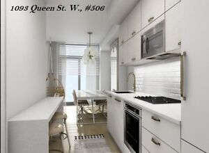 NEW Condo on Queen St W  Feb 2018 (520 sq. ft.)