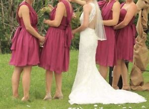 4 bridesmaids dresses