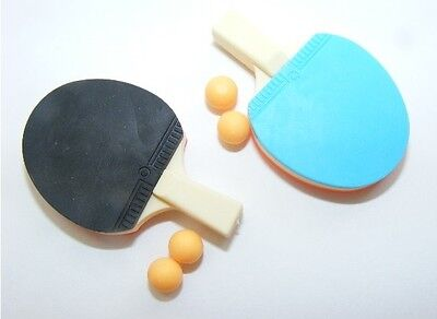 "Lovvbugg Ping Pong Paddles w 4 Balls for 18"" American Girl Doll Accessory"