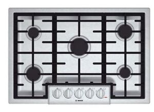 """BOSCH """"Brand New"""" Oven+Microwave combo, and Gas Cooktop """" SET """""""