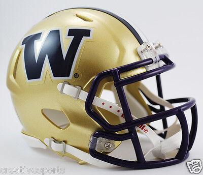 Washington Huskies Riddell Speed Revolution Football Mini Helmet