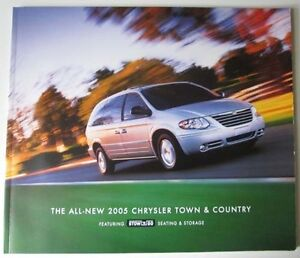 2005 chrysler town and country van 40 page sales brochure catalog ebay. Black Bedroom Furniture Sets. Home Design Ideas