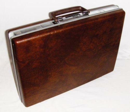 hard shell briefcase ebay