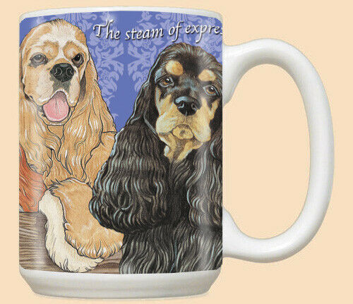Cocker Spaniel Ceramic Coffee Mug Tea Cup 15 oz