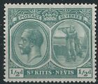 George V (1910-1936) Kittitian & Nevisian Postage Stamps