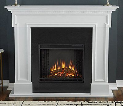 Real Flame 5010 Thayer Electric Fireplace White NEW