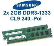 2x2GB DDR3