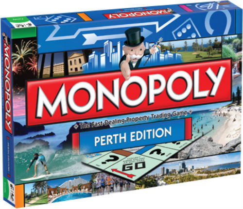 Monopoly Perth Collectors Edition Family Board Game from Hasbro Gaming 000158