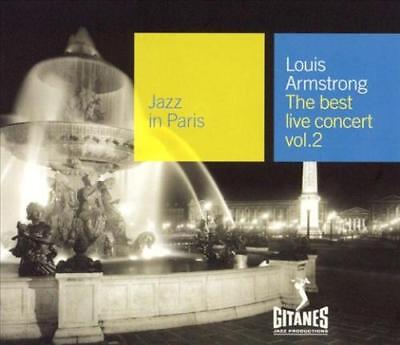 LOUIS ARMSTRONG - JAZZ IN PARIS: THE BEST LIVE CONCERT, VOL. 2 NEW