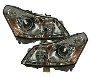 08 G35 Headlights OEM