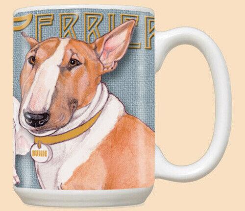 Bull Terrier Bullie Dog Ceramic Coffee Mug Tea Cup 15 oz