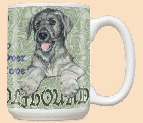 Irish Wolfhound Ceramic Coffee Mug Tea Cup 15 oz