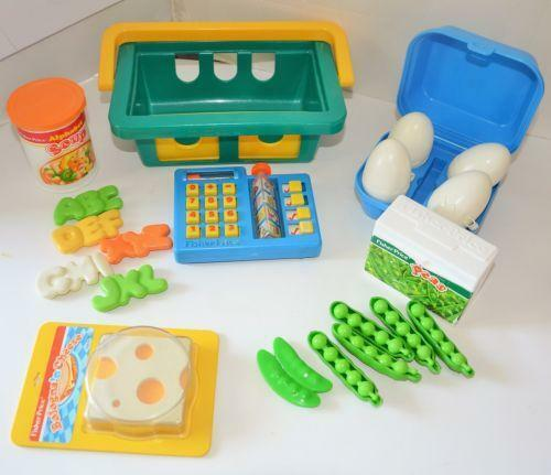 Fisher Price Toy Food : Vintage fisher price play food ebay