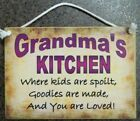 Wooden Kitchen Decorative Wall Plaques