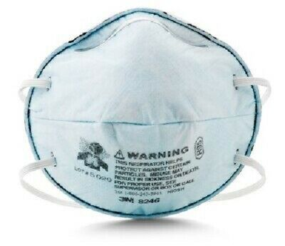 1 Box Of 20 Each 3m 8246 R95 Particulate Respirator See Listing And Pictures