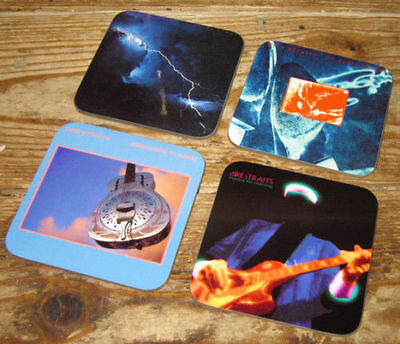 Dire Straits Mark Knopfler Album Cover COASTER Set