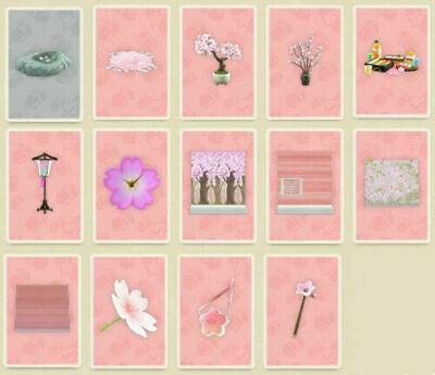 Animal Crossing New Horizon Cherry Blossom DIY + 160 Petals ✨Online!✨ All 14 DIY