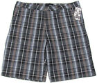 Hurley Plaids & Checks Regular 38 Shorts for Men