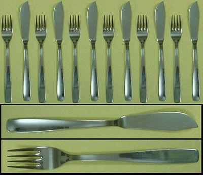 Cubiertos Acero para pescado ,pala y tenedor, servicio de 6 palas +...