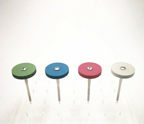 1PC Dental Lab Rubber Diamond Polisher grinders for Zirconia Porcelain Workpiece