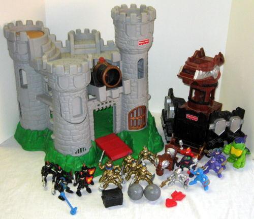 Fisher Price Great Adventures Castle | eBay
