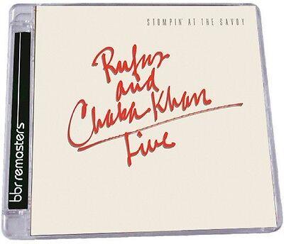Rufus Khan   Chaka   Live  Stompin At The Savoy  New Cd  Uk   Import