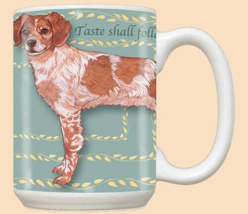 Brittany Dog Ceramic Coffee Mug Tea Cup 15 oz