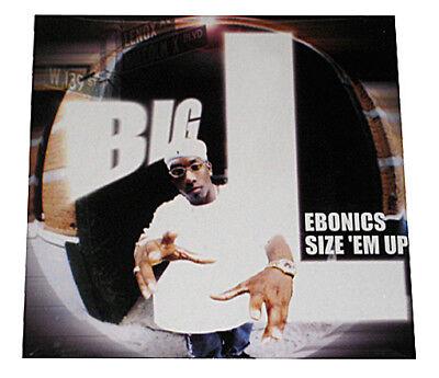BIG L - EBONICS / SIZE 'EM UP - MAXI-SINGLE - 12