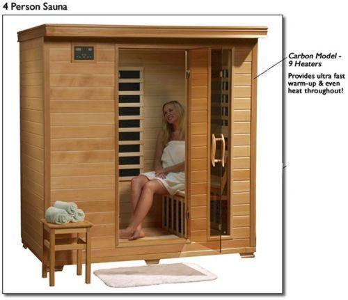 4 person sauna ebay. Black Bedroom Furniture Sets. Home Design Ideas