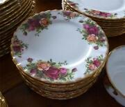 Royal Albert Old Country Roses Tea Plates
