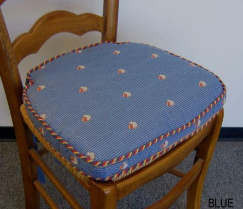 French Country Kitchen Chair Pads