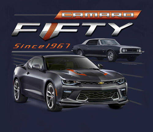 Chevy Camaro Fifty Year Muscle Car T Shirt By Joe Blow