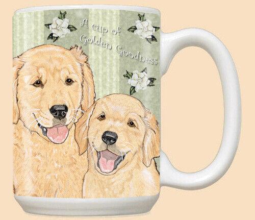 Golden Retriever Ceramic Coffee Mug Tea Cup 15 oz