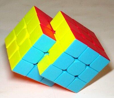 Fused Rubik Cubes Melting Cube Melted Rubix Fidget Spinner Twisty Puzzle