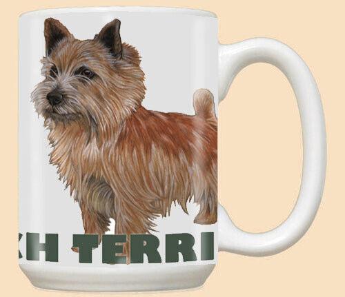 Norwich Terrier Ceramic Coffee Mug Tea Cup 15 oz