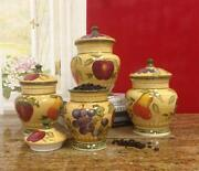 Fruit Canisters