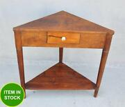 Timber Lamp Table