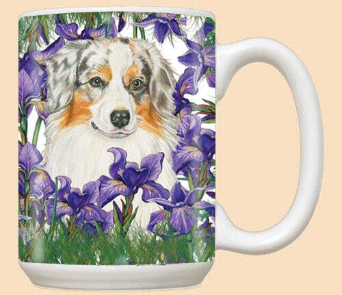Australian Shepherd Aussie Dog Ceramic Coffee Mug Tea Cup 15 oz