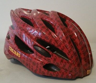 USC Trojans Officially Licensed NCAA Bicycle Helmet - Limited Edition Limited Edition Small Helmet