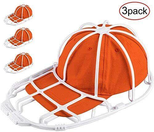 3 Pack Hat Washer Baseball Hat Cleaner Cap Washer Hat Washing Cage Holder Frame