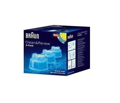 CCR3 Braun Reinigungskartusche zu Braun Rasierer Series 3, 5, 7 und 9