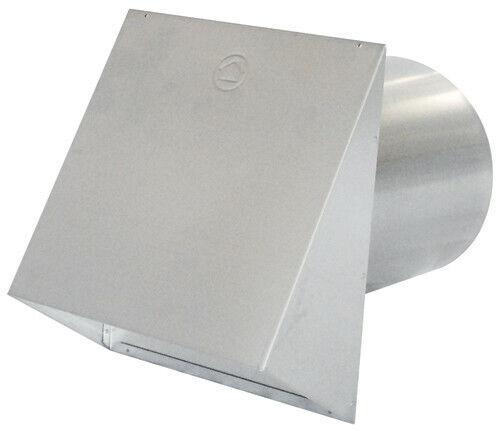 Air King PWC8R 8 Inch Round Galvanized Steel Wall Cap