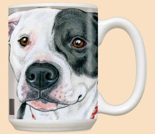 Pit Bull Ceramic Coffee Mug Tea Cup 15 oz