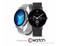 CoWatch Smart Watch - Carbon Black (OPENED, UNUSED) IOS AND ANDROID COMPATIBLE