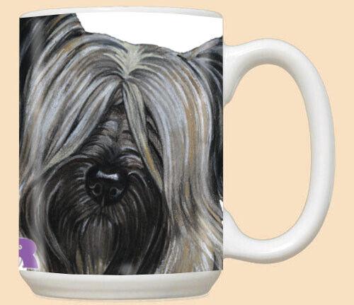Skye Terrier Ceramic Coffee Mug Tea Cup 15 oz