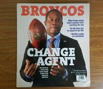 Denver Broncos Change Agent The Denver Post Vance Joseph