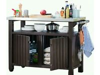 Norfolk Leisure Double Bbq Table