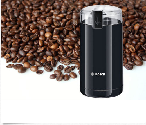 BOSCH TSM6A013B ELECTRIC COFFEE GRINDER 180W STAINLESS STEEL CHOPPING BLADE NEW